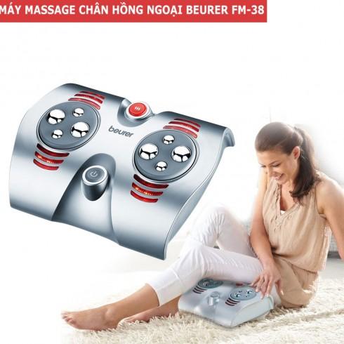 Video Máy massage chân trị liệu hồng ngoại Beurer FM-38 - Đức