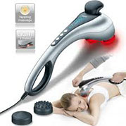 VideoMáy massage cầm tay 2 đèn hồng ngoại Đức Beurer MG-100