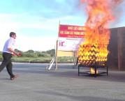 video bình chữa cháy dạng ném nhật bản ninja safe 650ml - 1