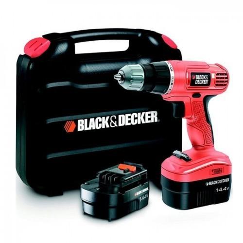 video bộ máy khoan pin sạc black decker epc14100k-qw/ 14,4v