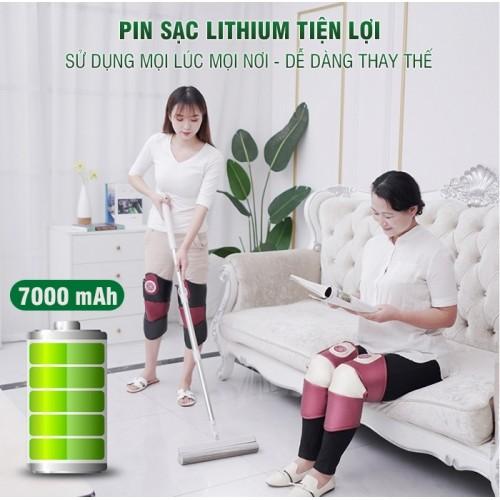 Video máy massage đầu gối pin sạc YIJIA YJ-908L - Giảm nhanh mọi cơn đau nhức đầu gối