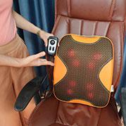 Video máy (đệm) massage lưng hồng ngoại hàn quốc puli pl-803a-w - 8 bi