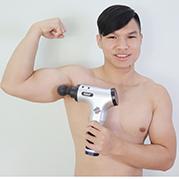 Công dụng thần kỳ của súng massage gun Nikio NK-171 vơi cơ bắp
