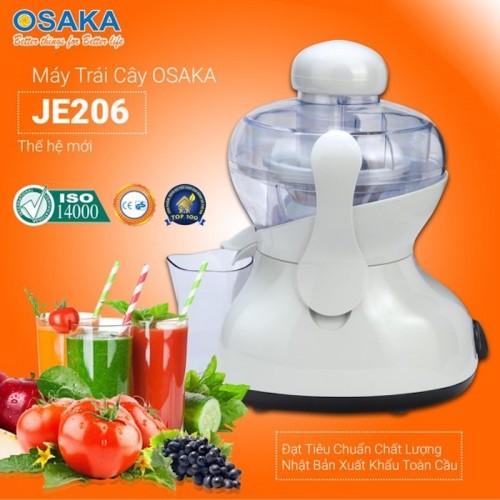 VideoMáy ép trái cây gia đình Osaka JE-206