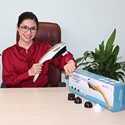 VideoMáy mát xa cầm tay cao cấp 5 đầu Puli PL-610B - Điện tử