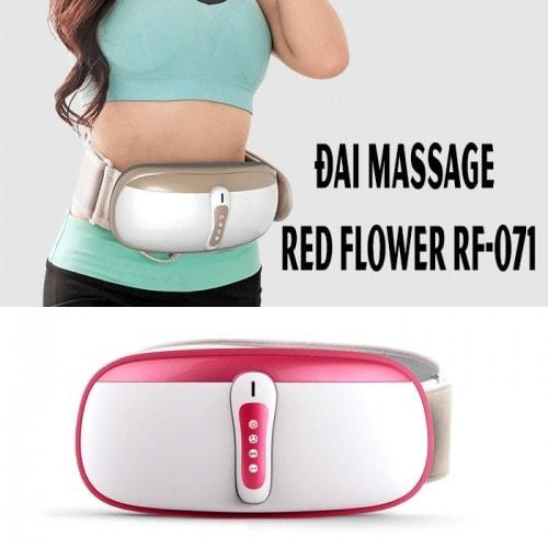 video sự thật về đai massage rung lắc và xoay giảm mỡ bụng cao cấp red flower rf-071