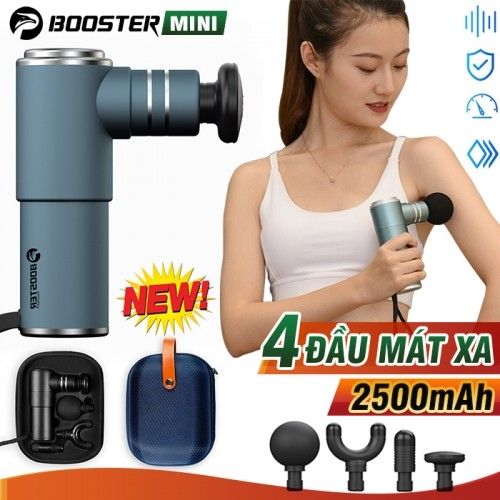 Video video súng massage cầm tay điều trị căng cơ bắp booster pocket mini - hàng chính hãng mỹ