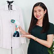 Video bàn ủi hơi nước đứng cầm tay Nhật Bản Sokany AJ-2205