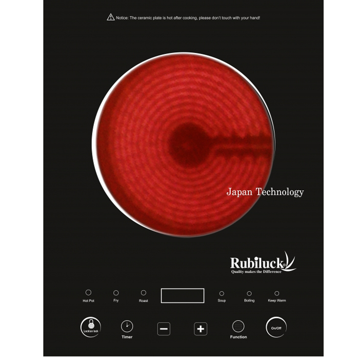 Video bếp hồng ngoại rubiluck vn1812