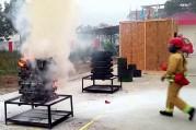 Video video bình chữa cháy dạng ném nhật bản ninja safe 650ml - 2