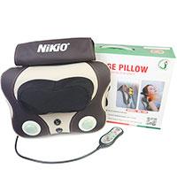 Review Máy mát xa xoa bóp trị đau mỏi cổ vai gáy pin sạc Nikio NK-136DC
