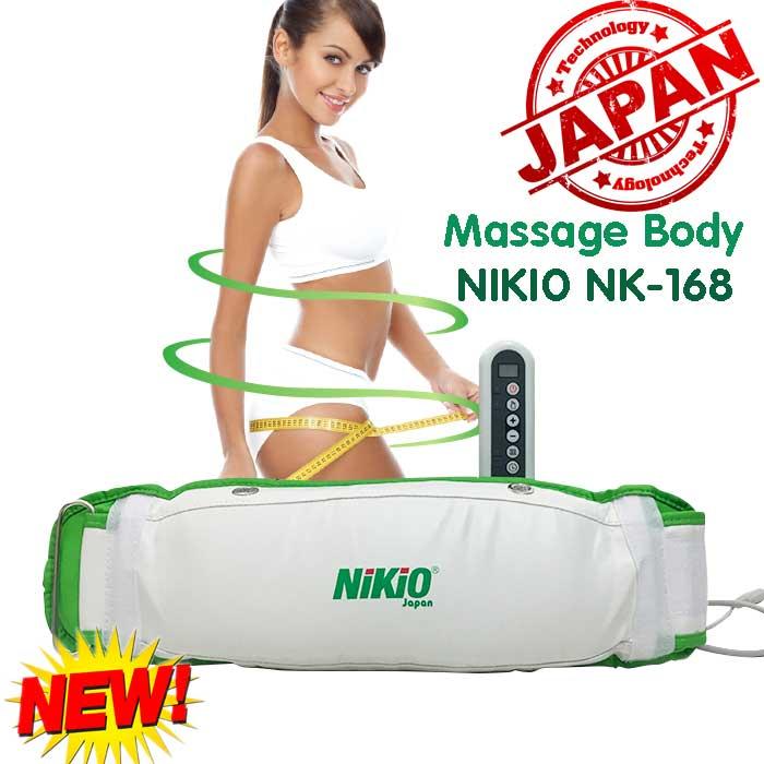 Video máy mát xa giảm mỡ bụng Nikio NK-168 hiệu quả giảm mỡ nhanh