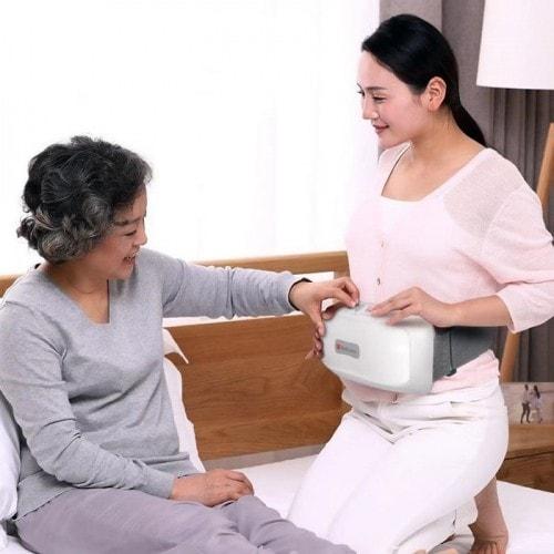 Video Máy massage bụng pin sạc xoay xoắn giảm mỡ bụng mới RED FLOWER RF-013S