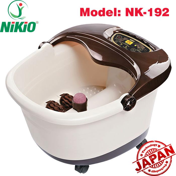 Video video review bồn ngâm chân massage nikio nk-192 cải tiến mới