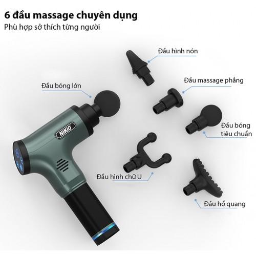 Video video review giới thiệu súng massage cầm tay nikio nk-172 model 2020