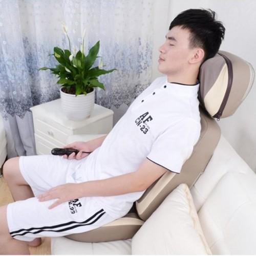 video ghế massage hồng ngoại cao cấp hàn quốc puli pl-887 - giải pháp giảm đau nhức lưng cổ vai gáy