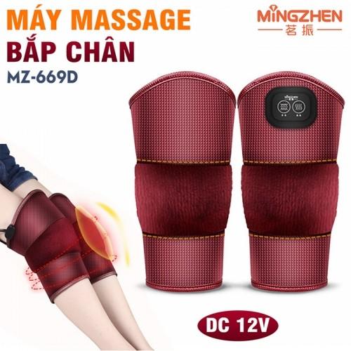 Video máy massage đầu gối rung nóng Ming Zhen MZ-669D - Hỗ trợ điều trị đau nhức mỏi gối