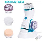 VideoMáy massage và rửa mặt pin sạc CNAIER AE-8286B 4 đầu - 4in1