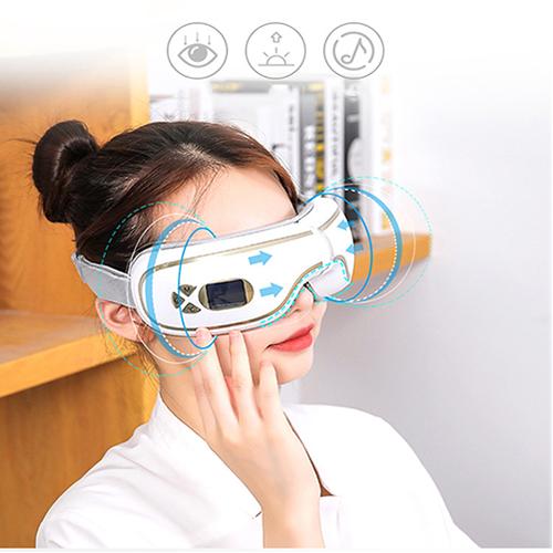 Video video máy massage mắt xoa bóp áp suất khí có nhiệt sưởi yijia yj-518 - hỗ trợ cải thiện thị lực