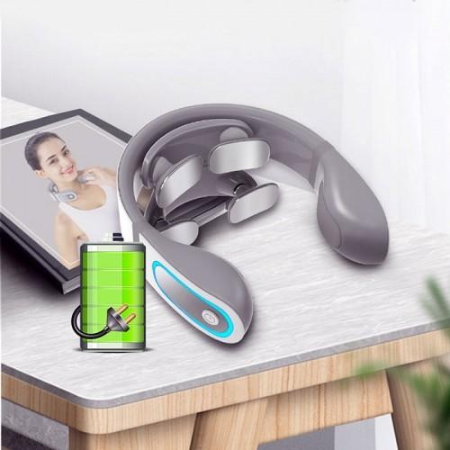Video video review máy massage cổ trị liệu rung, xung điện pin sạc ming zhen mz-n5