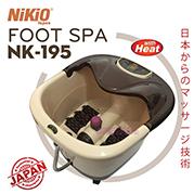 Video công dụng thần kỳ của bồn ngâm và massage chân Nikio với muối khoáng