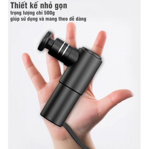 Video test độ mạnh súng massage cầm tay mini Booster - Nhỏ mà có võ, mạnh không tưởng